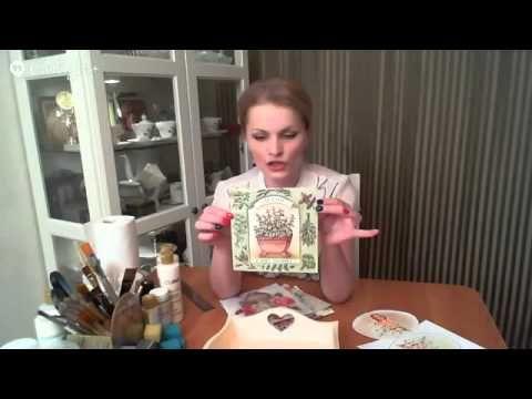 День 7 Наталья Родина Поднос - YouTube
