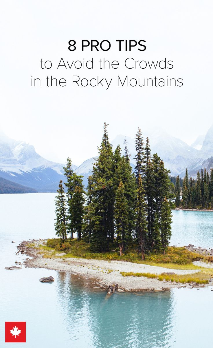 The Canadian Rockies are breathtakingly stunning, which also means certain spots can get a little crowded once in a while. Here are 8 ways to maximize your quiet time and avoid the masses in the Rocky Mountains - or any popular travel destination for that matter. | @explorecanada