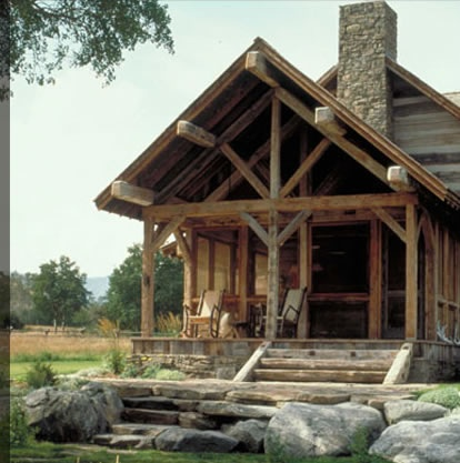 119 best images about timber frame homes on pinterest for Log home architects