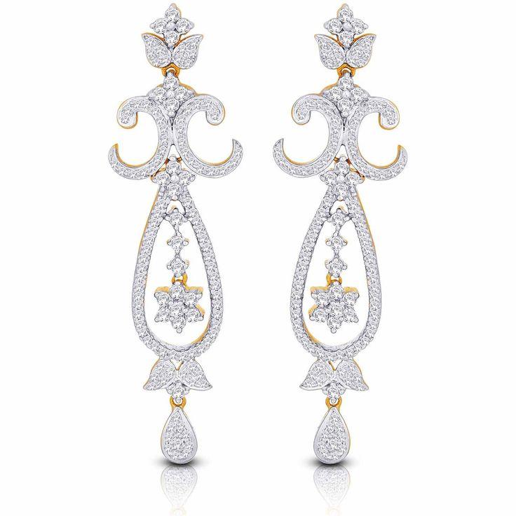 Nakshatra Diamond Earring EERB207VS-GH