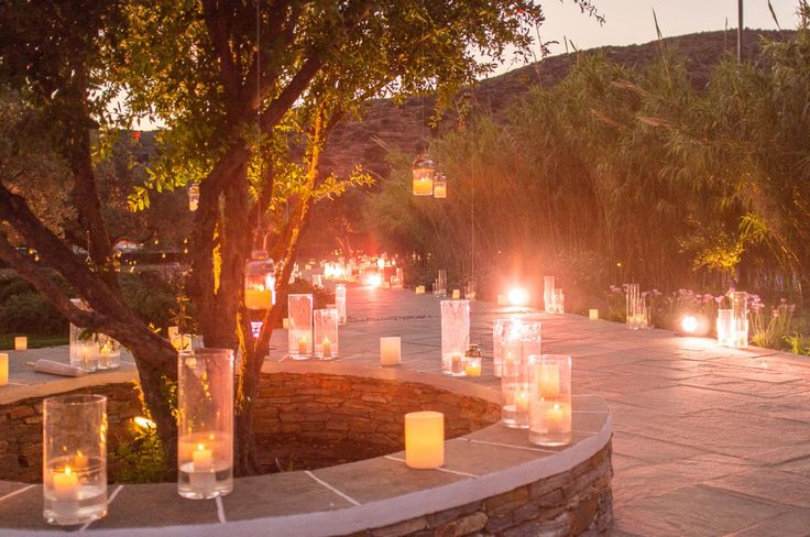 The way for the bride & the groom is defined by the unlimited candles!