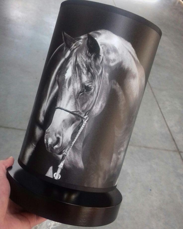 Black horse lamp #fotolampy
