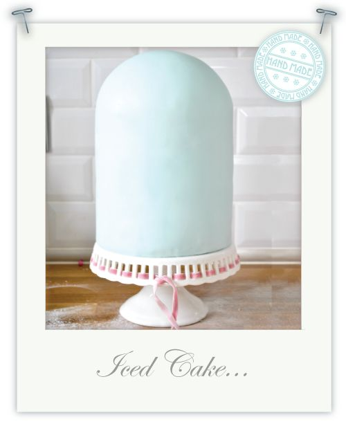 Tutorial Part 3.... Icing my bird cage shaped cake by Torie Jayne
