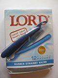 LORD Straight Razor Barber Single Edge Disposable 12 pcs. L02PS
