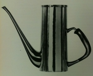 Coffee Pot - Silver with rosewood handle / by Sigurd Persson, 1958, Stockholm