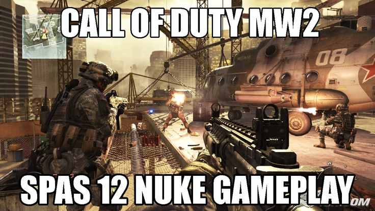 Call of Duty MW2 SPAS 12 Nuke | Call of Duty Gameplay
