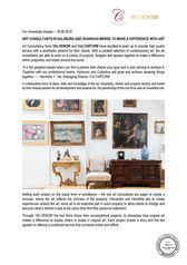 ART CONSULTANTS IN SALZBURG AND SHANGHAI MERGE TO MAKE A DIFFERENCE WITH ART