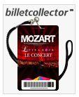 Mozart L'opera rock Concert, Palais des Sports, Paris 19-22/06/2014