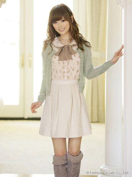 LODISPOTTO ( Japanese Fashion ) How kawaii! I wish my wardrobe was this cute ;.; | Korean ...