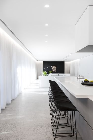 #contemporarykitchen #minimal #modern Gallery | Australian Interior Design Awards Stools