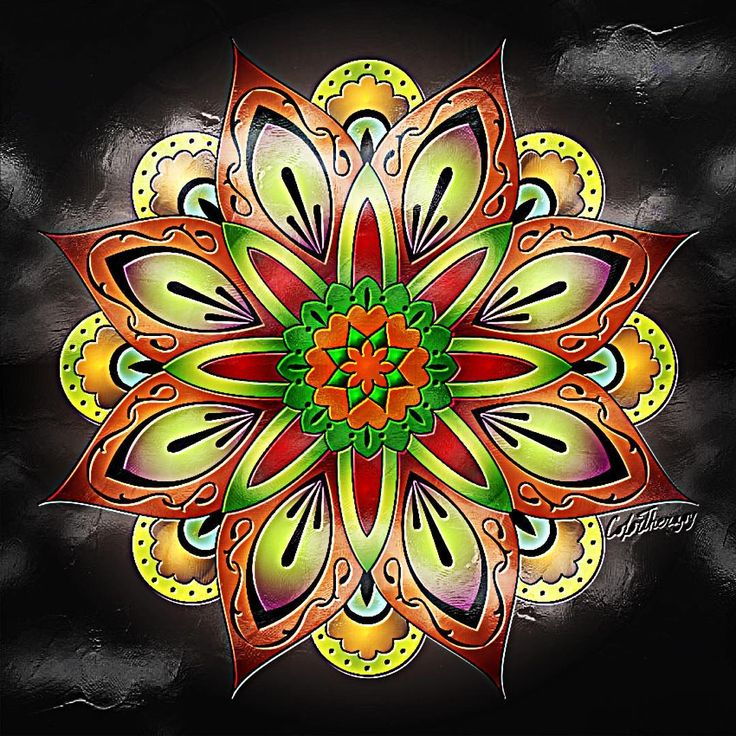 127 Best Color Therapy Mandalas ColorTherapyApp Adult Coloring