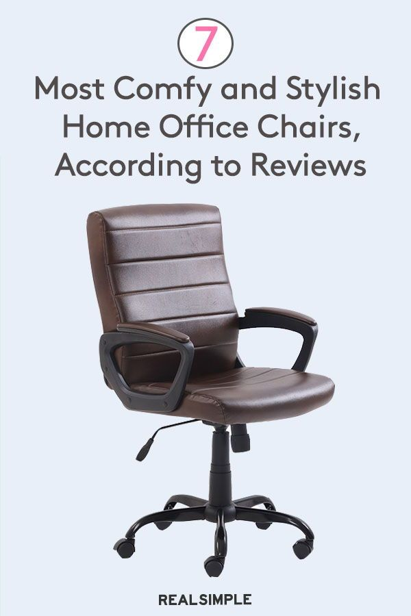 The 7 Most Comfortable Home Office Chairs According To Thousands Of Reviews In 2020 Home Office Chairs Chair Office Chair