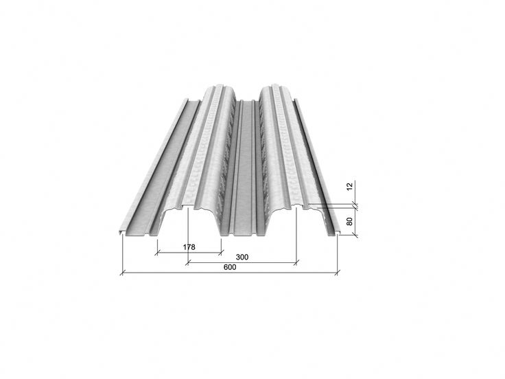TR80+ Floor Decking | Stock Suppliers of Steel Decking Profiles