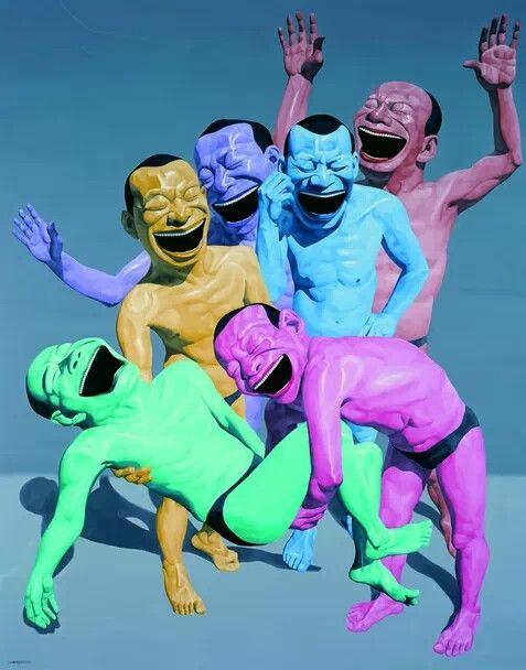 Yue MinJun Art Experience:NYC http://www.artexperiencenyc.com/social_login