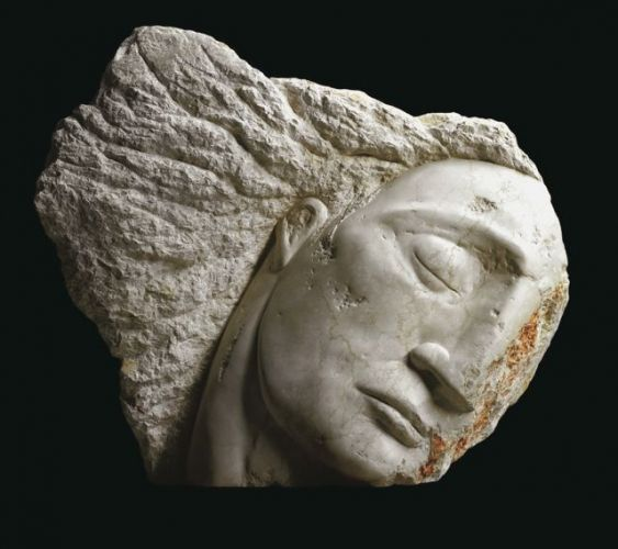 Emily Young: Wounded Angel, 2003