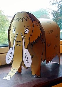 Make a Mammoth Activity Sheet - © Nash Ford Publishing