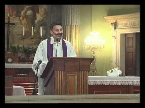 Pál Ferenc atya lelkigyakorlatos előadása a váci DOM-ban (1.nap)