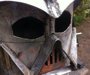 Big Bad Vader Log Burner by doddieszoomer