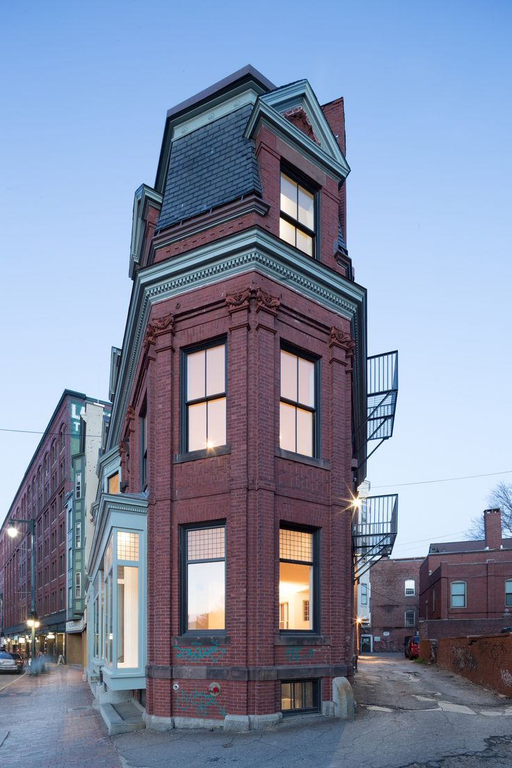 Present Architecture restores historic Maine building devastated by fire