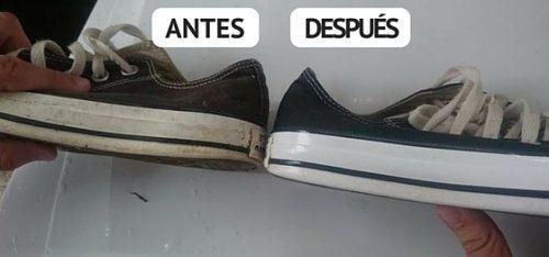 Cómo blanquear las zapatillas blancas con algunos trucos caseros