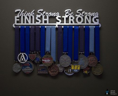 Do Or Do Not. There Is No Try. | Sport & Running Medal Displays | The Original Stainless Steel Medal Display