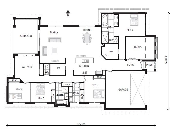 Silkwood 281, Our Designs, G.J. Gardner Homes Victoria ~ In my dreams