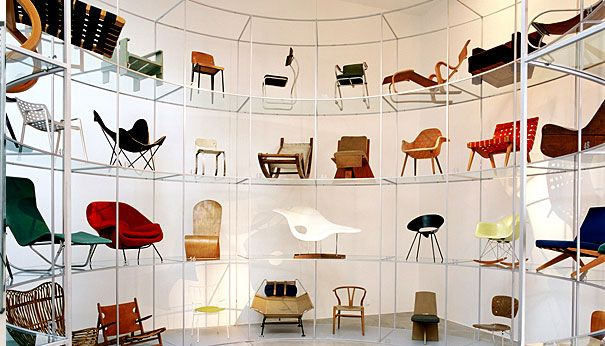 @vitra @vitrahaus Vitra Design Museum, including #eames chairs