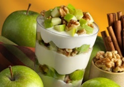 Captive Creativity: Green Apple Walnut Yogurt Parfait