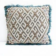 Berber pillows : Kelim Berber kussen 5 38 x 35 cm