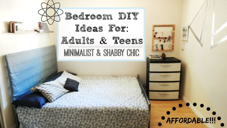 bedroom makeover diy ideas for adults dorm rooms teens. Black Bedroom Furniture Sets. Home Design Ideas
