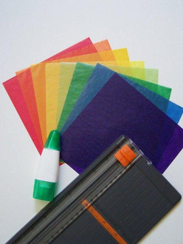 » Crafts for Kids: Kite Paper Stars