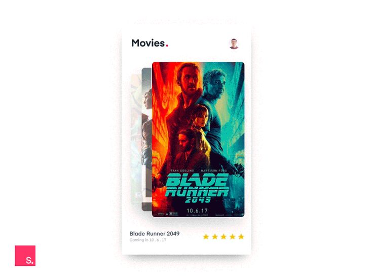 InVision Studio — Movies app concept by Charles Patterson