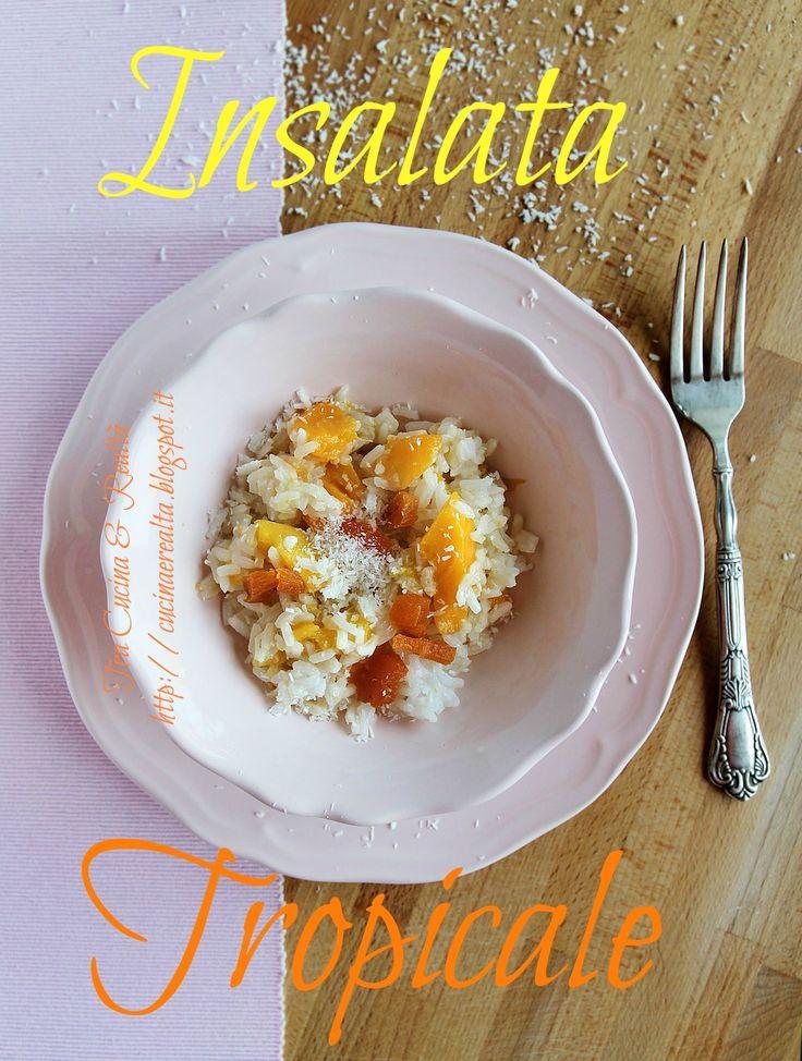 Dai un'occhiata alla mia insalata tropicale per il contest di Sale&Pepe e se ti piace votami!http://contest.salepepe.it/insalatefantasia/contributo/insalata-tropicale/  Salve a tutti! Sono Lisa, per il contest insalate presento un piatto freddo che sono sicura accompagnerà moltissimi di voi durante questi mesi estivi! Consideriamola un'alternativa più sana, divertente e ricca di vitamine e gusto, alla classica insalata di riso.