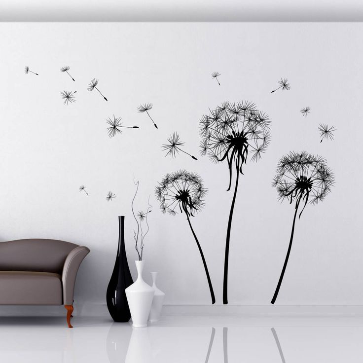 Dandelions : Decoración de paredes de Crearreda Wallstickers