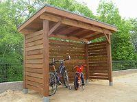 画像 : 自転車置き場のDIY集(サイクルポート 庭自作 手作 作り方 基礎木製アルミ単管パイプ 寸法 キット - NAVER まとめ