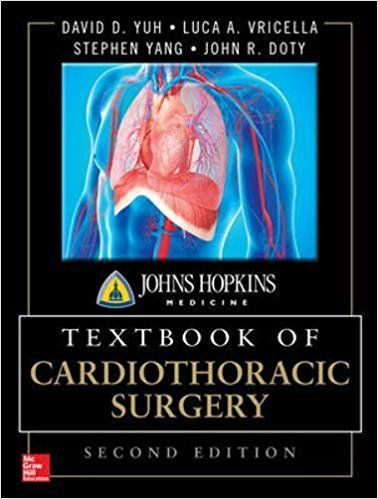 Johns Hopkins Textbook Of Cardiothoracic Surgery Medical Books