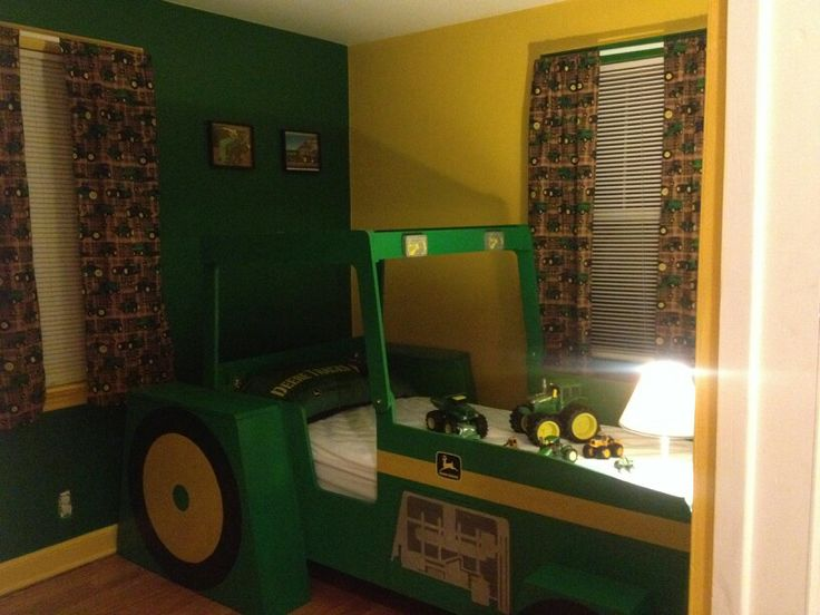 John Deere Bedroom For Our Little Tractor Lover!