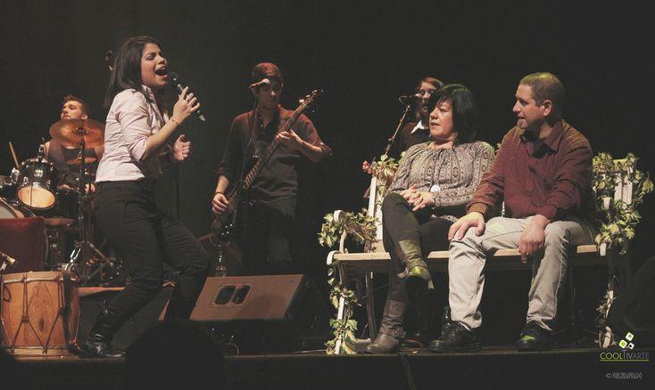 imagen - Carlos Benavides + Anita Valiente , en Sala Zitarrosa. Jueves 30 de Julio. Fotos: © Virginia Prado