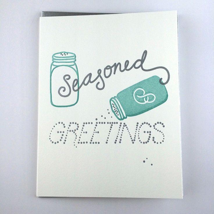 Seasoned Greetings Card