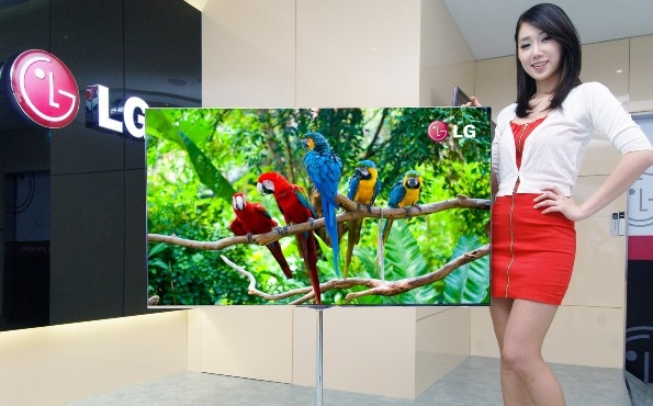 "New 55"" 4mm thin 3D OLED TV from LG"