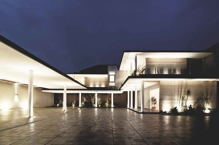 Project : C House Image 1 Location : Bandung, Indonesia Site Area : 2000 m2 Building Area : 1350 m2 Design Phase : 2010 Construction Phase : 2010 - 2012  #architect #bandung #jakarta #architectindonesia #archdaily