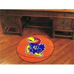 Kansas Jayhawks KU Basketball Floor Rug Mat