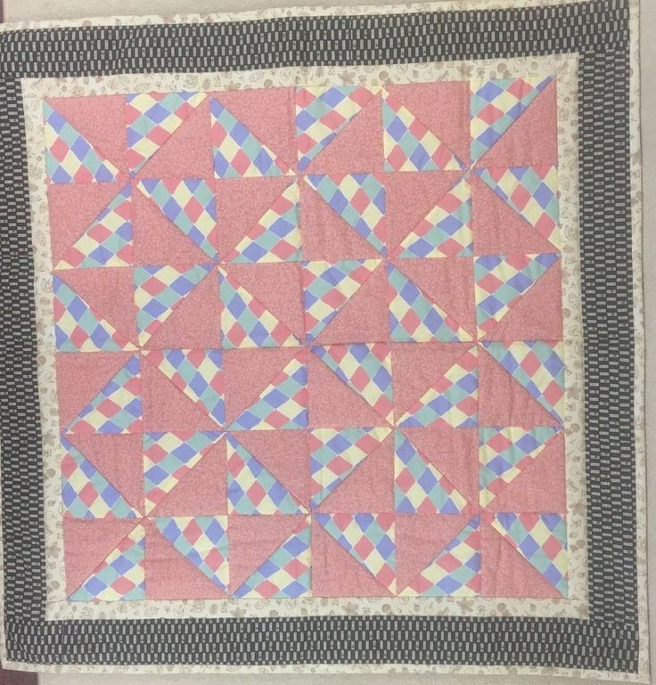 Handmade Patchwork Quilt Cot Junior Bed  Baby PlayMat. Cotton Lightly Padded