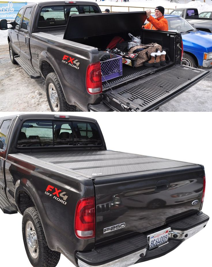 BAKFlip F1 Hard Tonneau Cover Folding Aluminum and