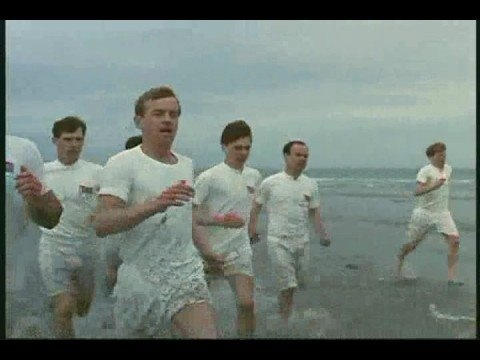 Opening of Chariots of Fire.  I cant wait to run along that beach!