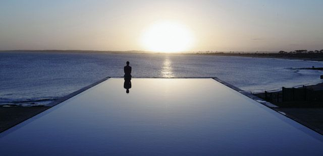 Playa Vik - José Ignacio, Uruguay. The most stunning property and infinity pool I have ever seen.