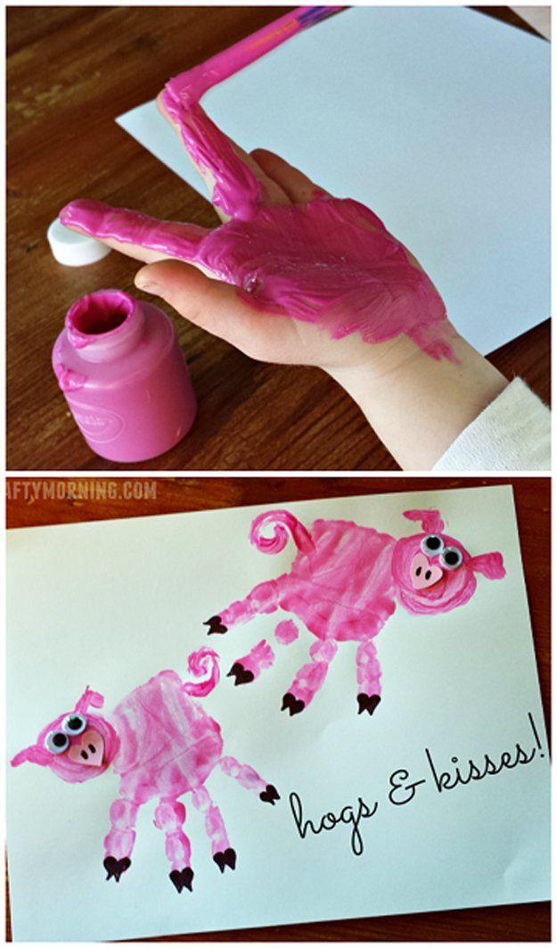DIY Craft: 20 Homemade Valentine Crafts For Kids To Make Craft Ideas   DIY Ready