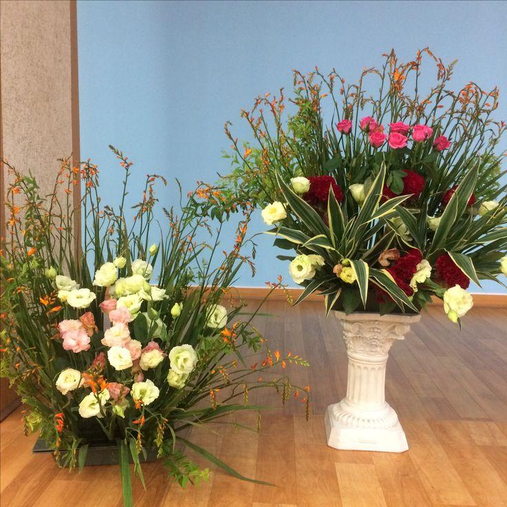 2017.7.30. This week's church flower decoration.