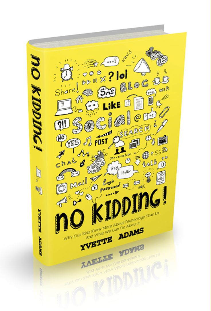 No Kidding is the second book by our founder/partner Yvette Adams. Apart from writing the book, she also designed this very bright and busy cover. See the website at www.nokidding.com.au.