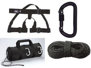 Tactical Rappelling Gear Set
